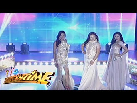 It's Showtime Miss Q & A: 3 beautiful candidates impress the audience