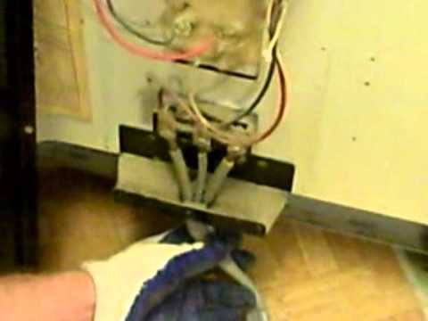 replace the power cord on an electric stove screw terminals replace the power cord on an electric stove 3 screw terminals