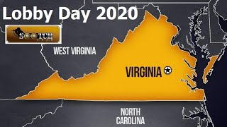 We're going to Virginia Lobby Day Jan 20