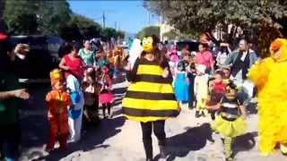 Desfile de la Primavera 2015 Kinder Amado Nervo de la Colonia La Reina