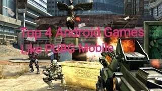 Top 4 Android Games Like Pubg Mobile For Low Devices 1gbram