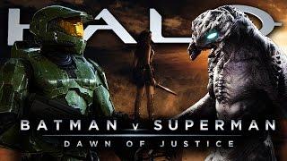 Halo | Batman v Superman: Dawn of Justice * Comic-Con Fan Trailer Mashup II * HD (720p) 60fps