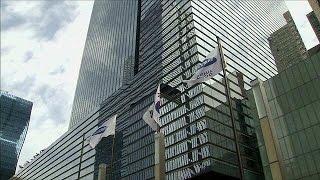 فيديو.. تفتيش مقر شركة سامسونج بكوريا الجنوبية