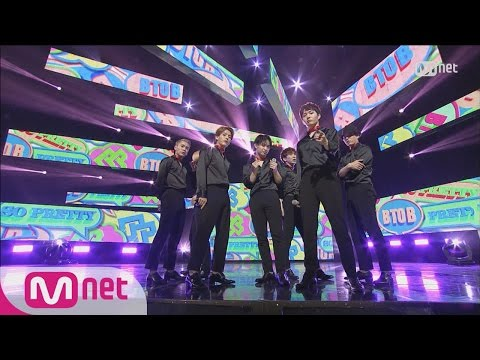 BTOB - So Pretty Comeback Stage M COUNTDOWN 160331 EP.467