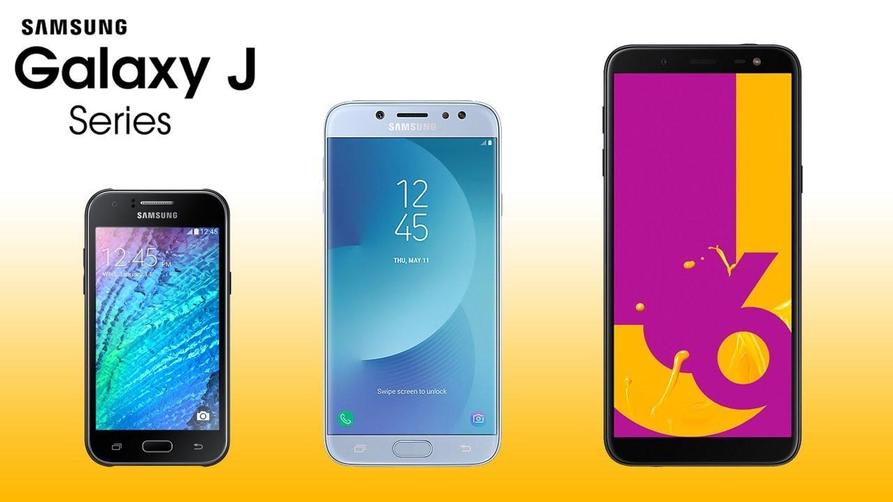 Samsung J series 2018 - YouTube