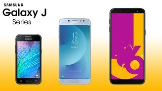 Samsung Galaxy J series Evolution