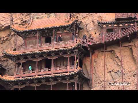 Hanging Temple of Hengshan - Datong, China