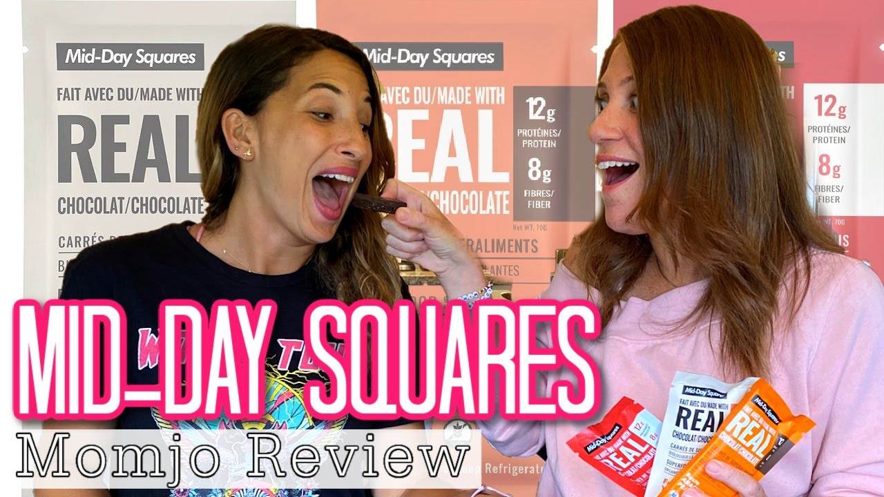 Mid-Day Squares Healthy Chocolate Bar - Review & Taste Test