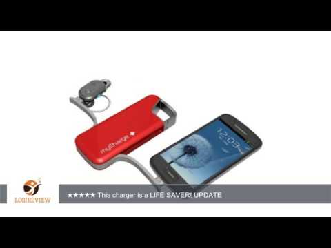 myCharge Jolt 2000M Power Bank, RFAM-0235 (Red) | Review/Test
