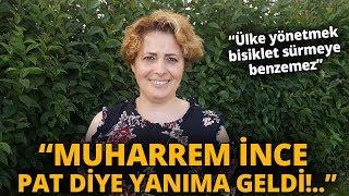 AK Partili Kadın, Muharrem İnce İle Yaşadığı Bisiklet Diyaloğunu Anlattı!