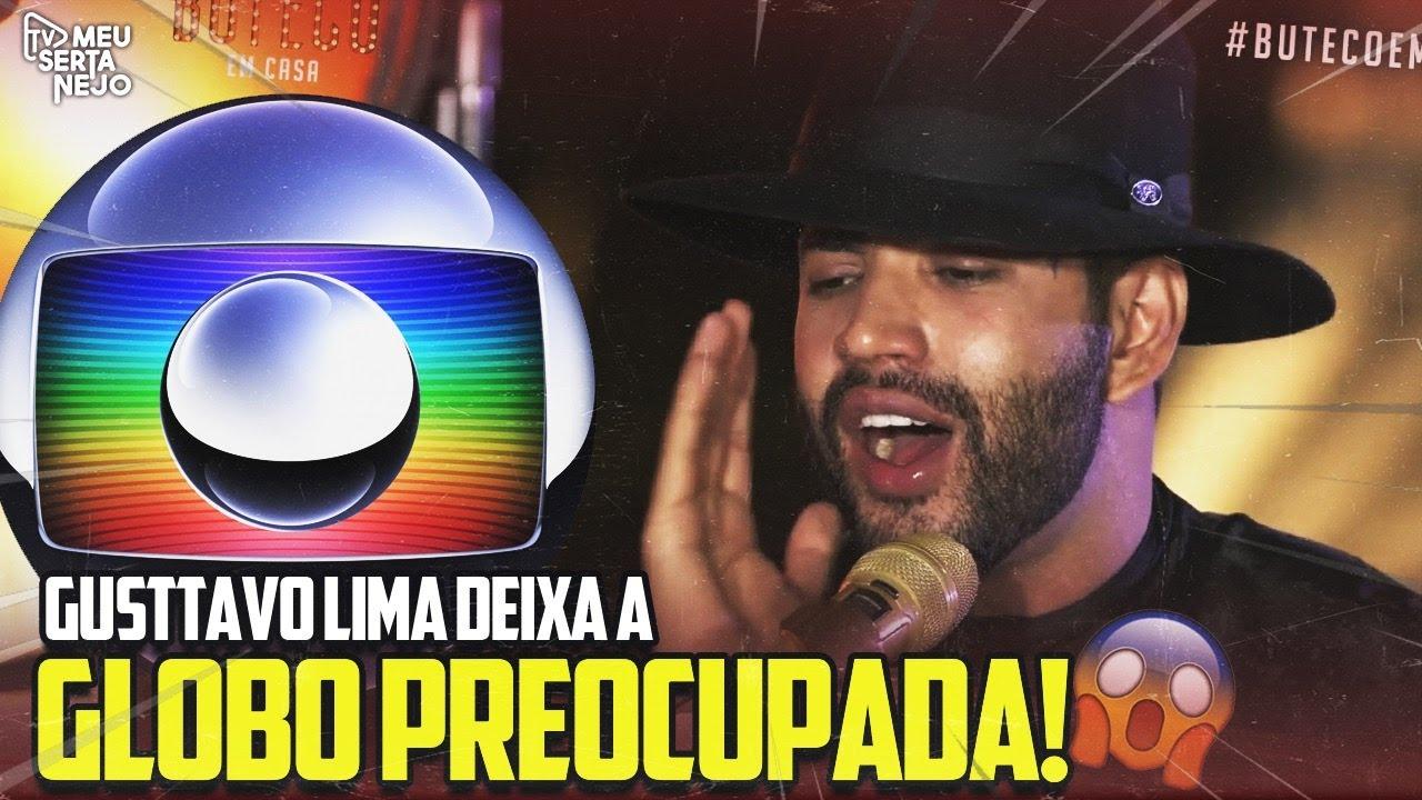 GLOBO se PREOCUPA com LIVE de GUSTTAVO LIMA!!