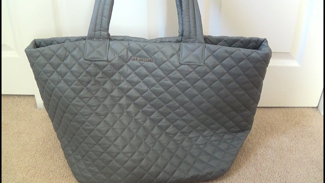 61e514ae108a MZ Wallace Large Metro Tote: Review & What Fits Inside - YouTube