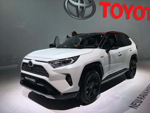 Le nouveau Toyota Rav-4 au Mondial de Paris 2018