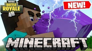 MINECRAFT ON MY SERVER + FORTNITE IN MINECRAFT! ALL *NEW* thumbnail