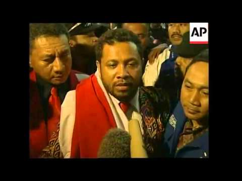 East Timor militia leader arrives to serve 10-year sentence