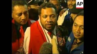 East Timor militia leader arrives to serve 10-year sentence
