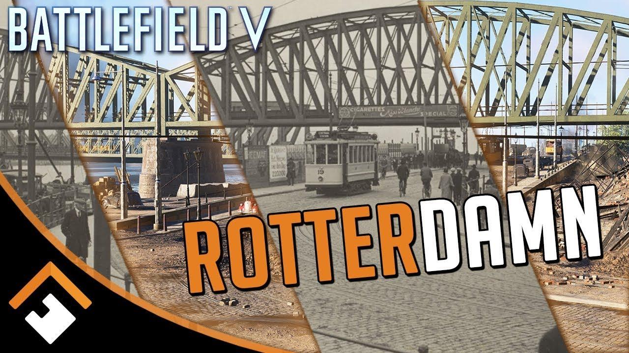 Посмотрите, найдёте ли вы отличия между Роттердамом и картой из Battlefield 5 (видео)