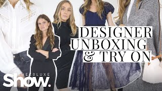 Designer Unboxing + Autumn Winter Try On Haul | SheerLuxe Show