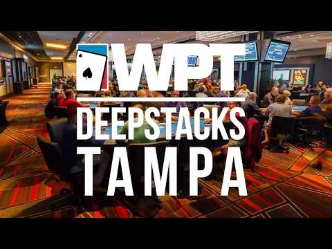 Welcome to WPTDeepStacks Tampa in Florida - World Poker Tour WPT - 동영상