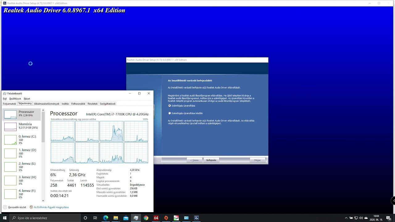Realtek HD Audio Driver 6.0.8967.1 WHQL