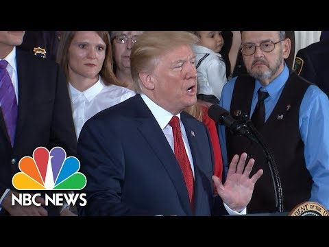 President Donald Trump Declares Opioid Crisis A National Public Health Emergency | NBC News