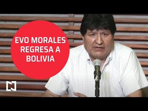 Evo Morales regresa a Bolivia - Punto y Contrapunto