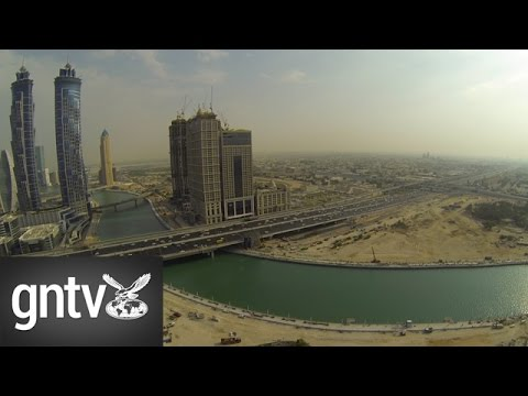 Dubai Canal Progression and Waterfall Test