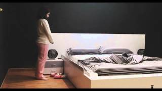 OHEA Smart Bed Makes Itself  with