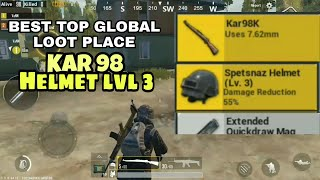 "Tempat Loot TOP GLOBAL ""PUBG MOBILE"""