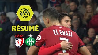 LOSC - AS Saint-Etienne (3-1)  - Résumé - (LOSC - ASSE) / 2017-18