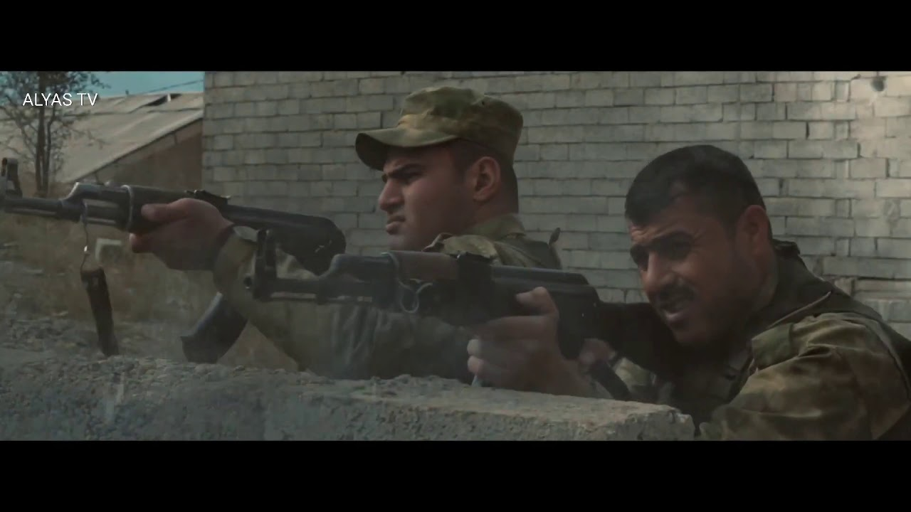فیلمی سینەمایی کوردی ( هەڵۆکانی جەنگ )  باس لە جەنگی کوردو داعش دەکا