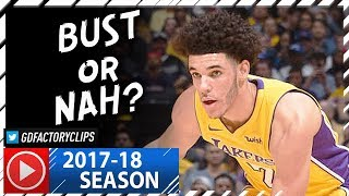 Lonzo Ball Full Highlights vs Pistons (2017.10.31) - 13 Pts, 6 Reb in 3 Qtrs