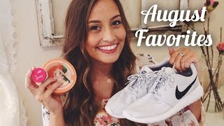 My Favorite Things from August | Kristin Lauria