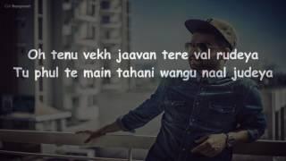 khaab by akhil karaoke with lyrics