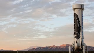 Blue Origin Launch from Van Horn
