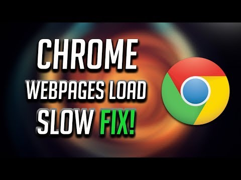 How To Fix Slow Google Chrome - Taking Too Long To Load [Tutorial]
