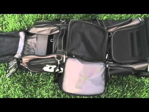 Demarini Black Ops Wheeled Bag A9423 Youtube