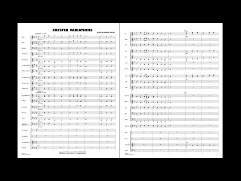 Chester Variations arranged by Elliot del Borgo