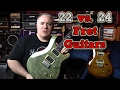 Download 22 vs. 24 Fret Guitars - Mystery Solved - Using PRS SE Custom 22 / 24 MP3 song and Music Video