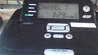 MAJOR FAIL: NOAA Weather Radio goes down then comes back on!