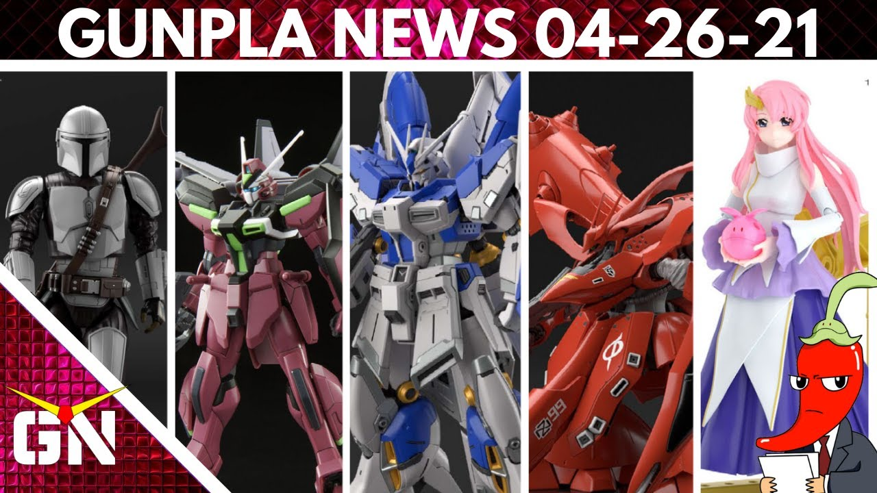New Pictures Of The Nightingale And The HI Nu, Lacus Clyne Is Back & This Is The Way | Gunpla News