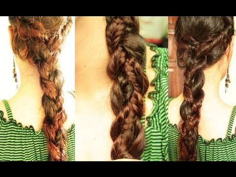 Creative Fishtail Braid- Fall Braided Hairstyle