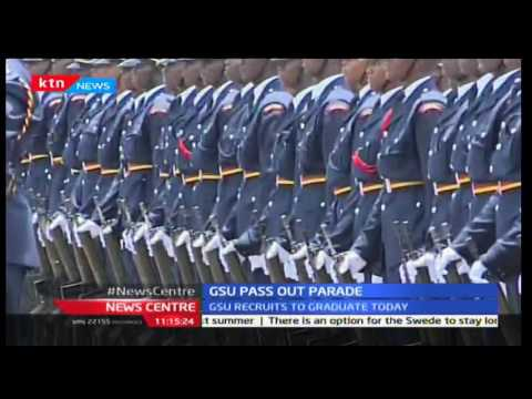 Kenya now has more than enough police officers as President Uhuru presides over GSU pass out parade