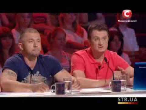 Кастинг в Харькове - Х-фактор - часть 1 - Четвертый сезон