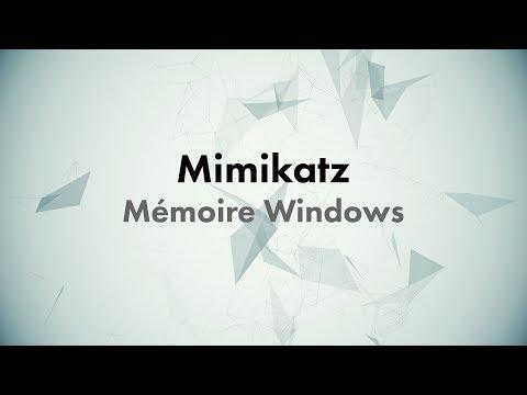 CONF@42 - Mimikatz - Mémoire Windows