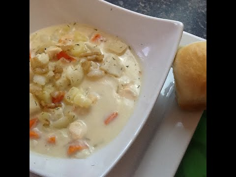 Traditional Newfoundland Seafood Chowder - Bonita's Kitchen