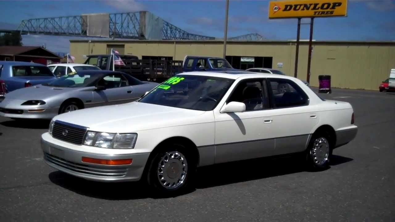 All Right Auto Sales >> 1990 LEXUS LS 400 SOLD!! - YouTube