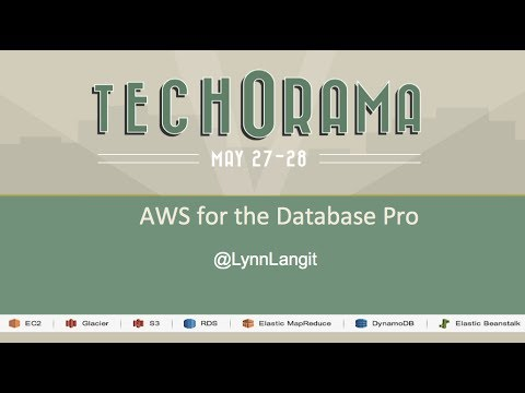 AWS for the Database Professional