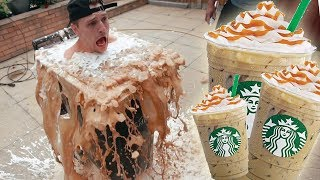 Download Diving Into A SUPER GIANT ICED COFFEE! Mp3 and Videos