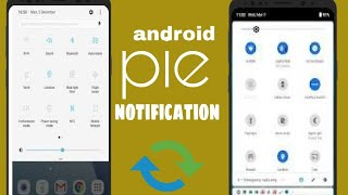get android pie notification panel on any phone app for free in Google play store